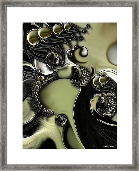 Still Life With Confused Movement Framed Print