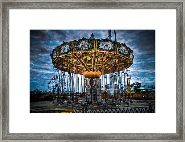 Still Memories Framed Print