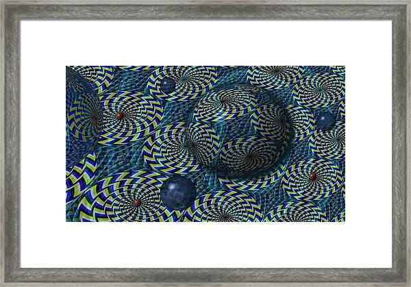 Still Motion Framed Print