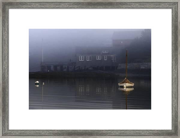Still Of Morning  Framed Print