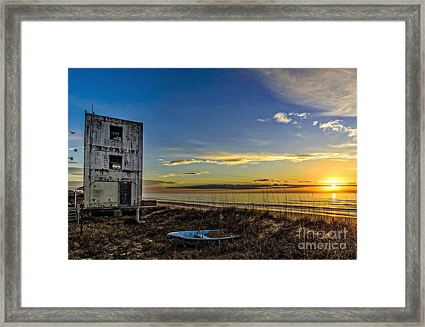 Framed Print featuring the photograph Still Standing by DJA Images