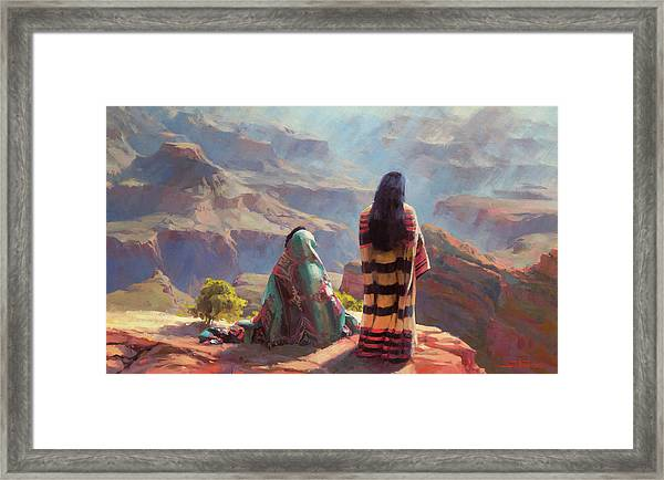 Stillness Framed Print