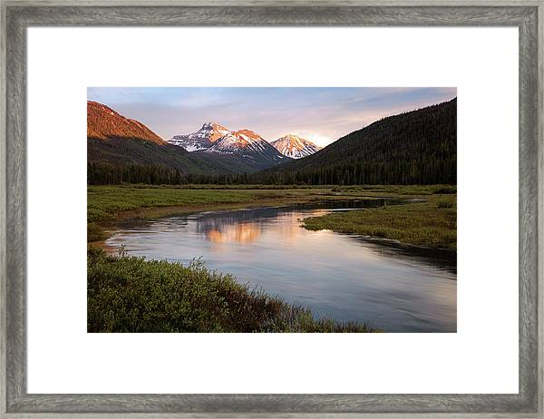 Stillwater Sunset Framed Print