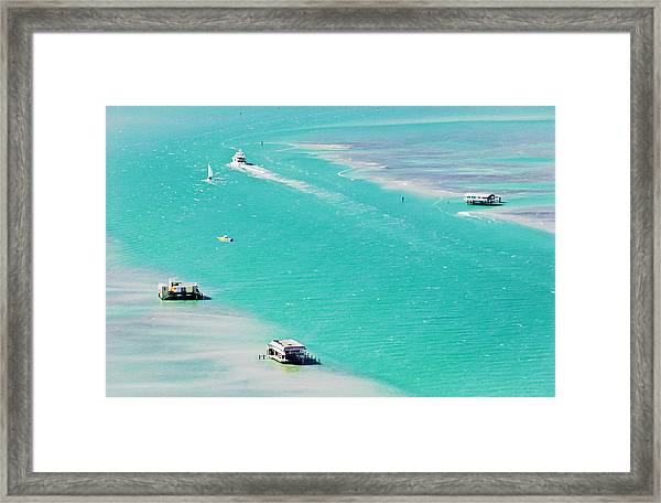 Stiltsville Framed Print