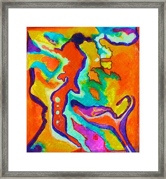 Stimulated Framed Print