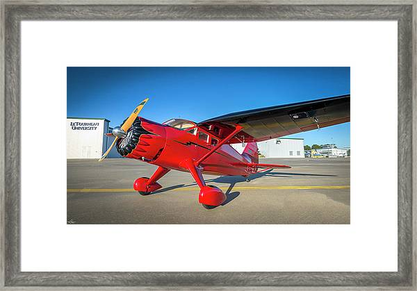 Stinson Reliant Rc Model 03 Framed Print
