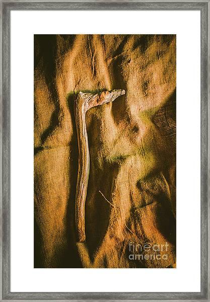 Stone Age Tools Framed Print