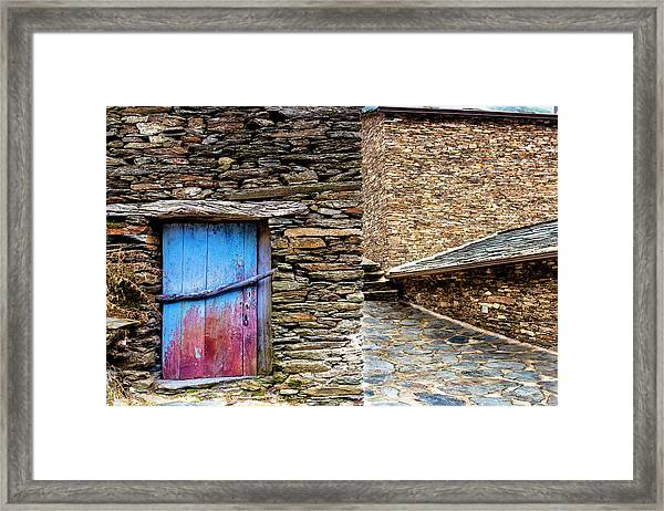 Stone By Stone Framed Print