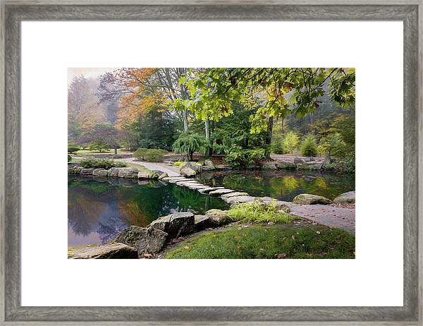 Stone Crossing Framed Print