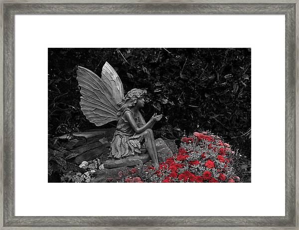 Stone Fairy Framed Print