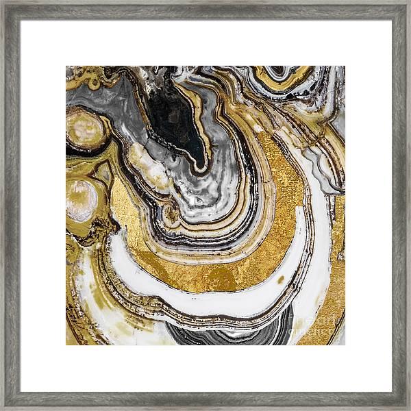 Stone Prose Framed Print