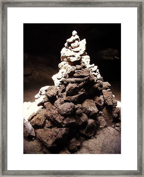 Stone Soul Framed Print