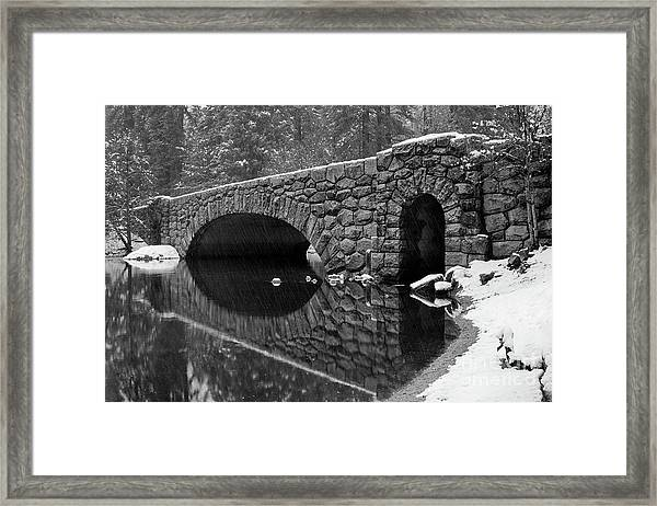 Stoneman Bridge Framed Print