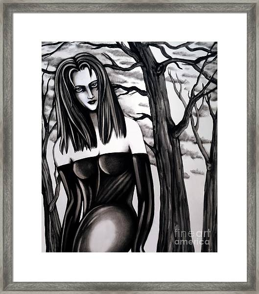 Who Do You Think You Are, Killing All My Trees Framed Print