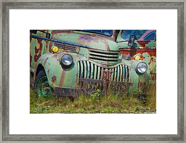 Stopped For Good Framed Print