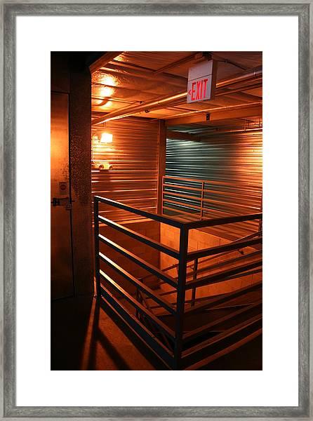 Storage 12 Framed Print