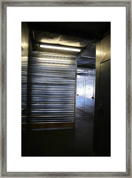 Storage 5 Framed Print