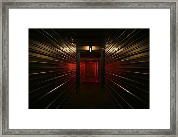 Storage 7 Framed Print
