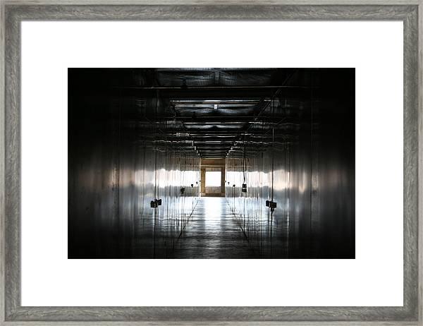 Storage Framed Print