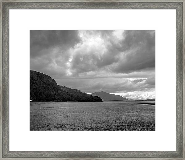 Storm On The Isle Of Skye, Scotland Framed Print