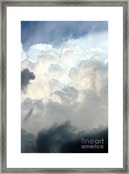 Storm Clouds 1 Framed Print