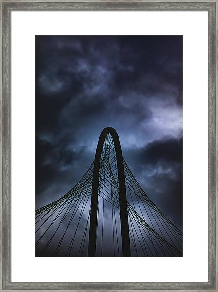 Storm Light Framed Print