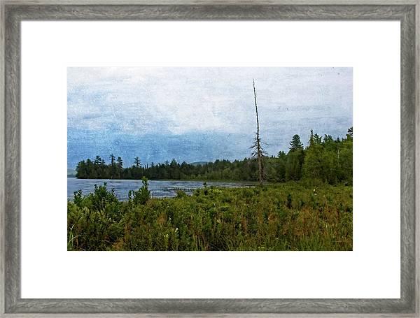 Storm On Raquette Lake Framed Print