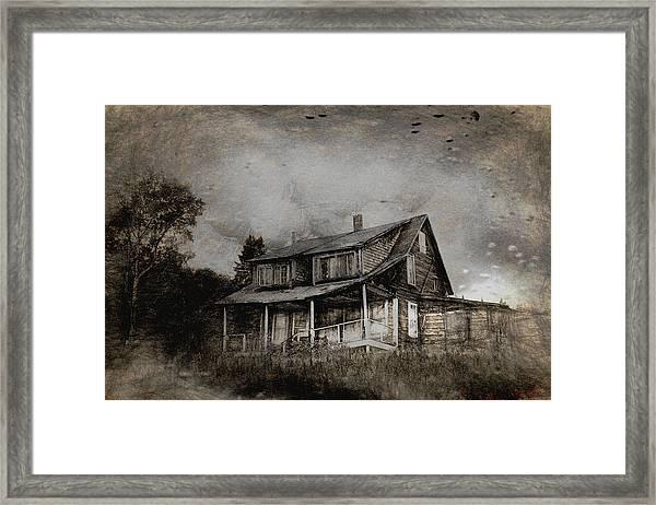 Storm Framed Print