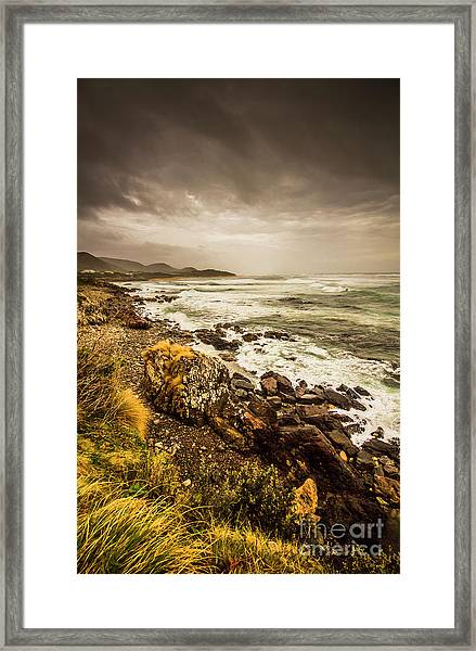 Storm Season Framed Print
