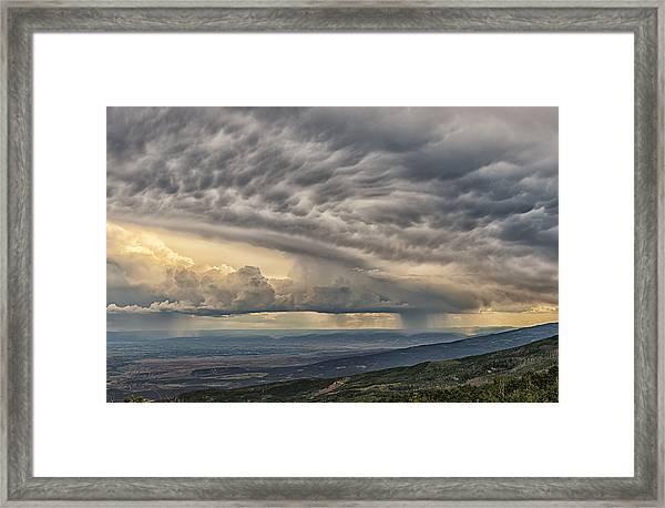 Storm View Framed Print