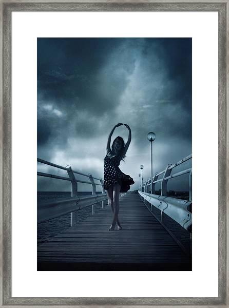 Stormdance Framed Print