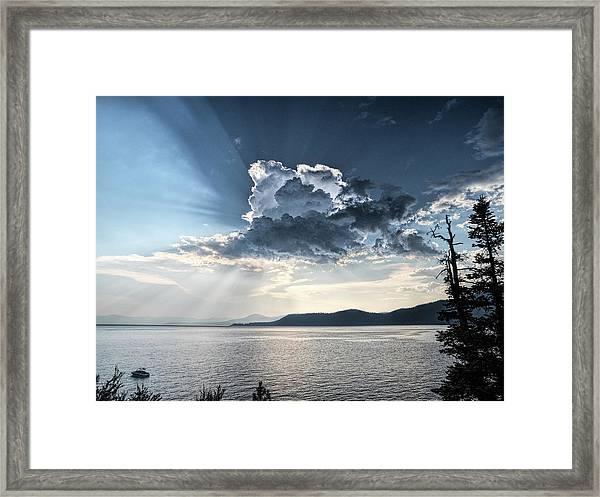 Stormlight Framed Print