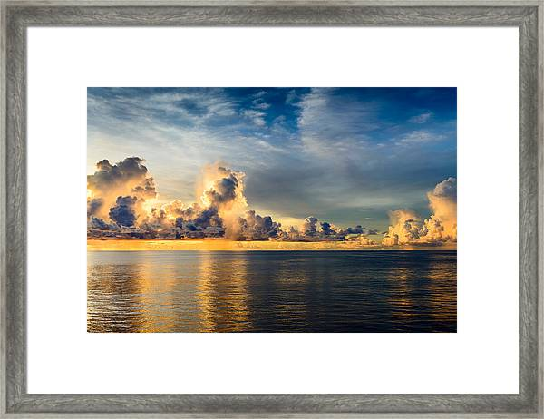 Stormy Clouds  Framed Print