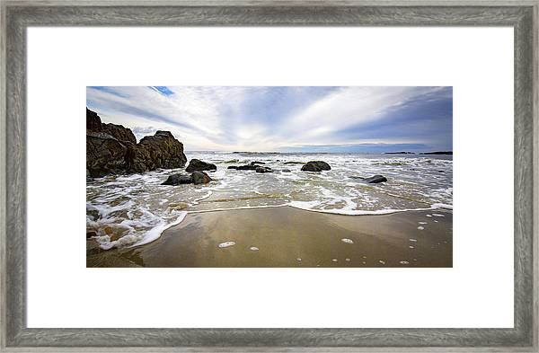 Stormy Maine Morning #1 Framed Print