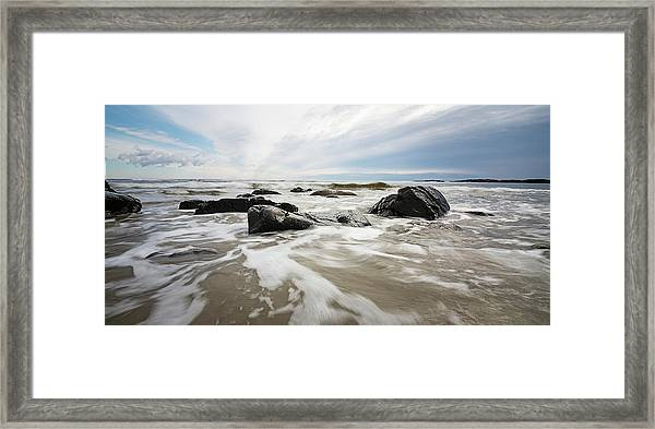Stormy Maine Morning #3 Framed Print