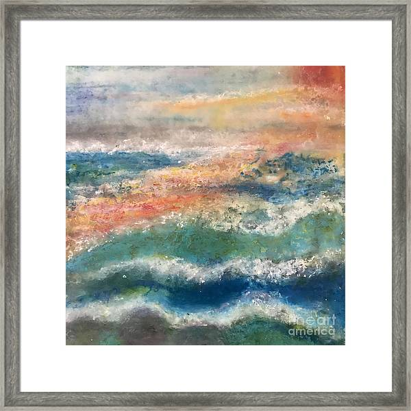 Laguna Sunset Framed Print