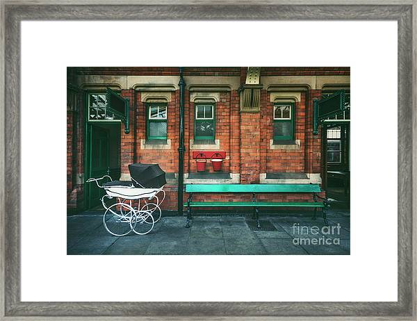 Story Of The Past Framed Print