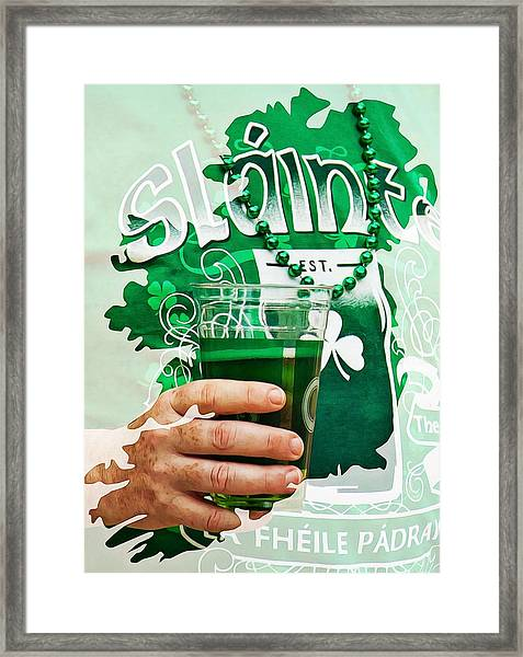 St. Patrick's Day Framed Print