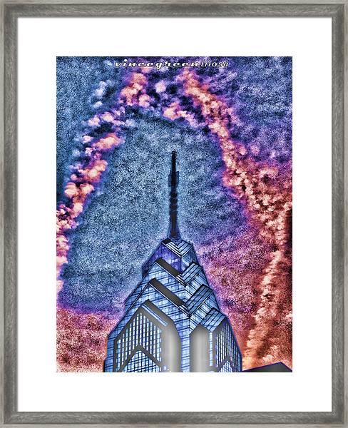 Straight Up Framed Print