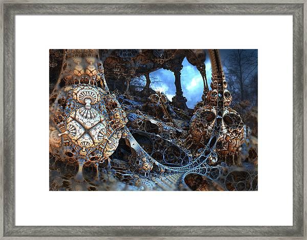 Strange Surroundings Framed Print