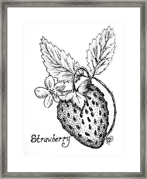 Strawberry Dreams Framed Print