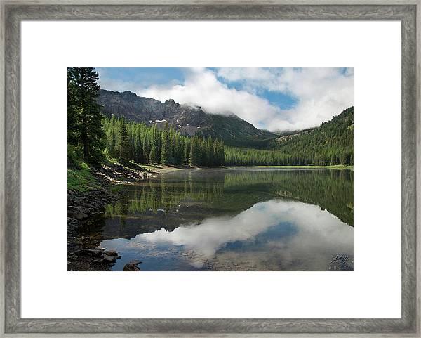 Strawberry Lake Framed Print