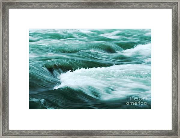 Stream Ll Framed Print by Hideaki Sakurai