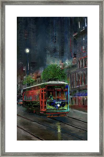 Street Car 905 Framed Print