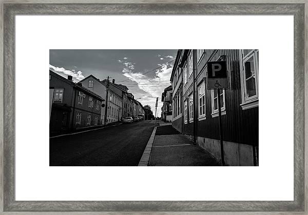 Street In Toyen Framed Print