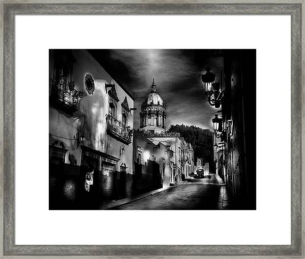 Street To The Nun's Church Framed Print
