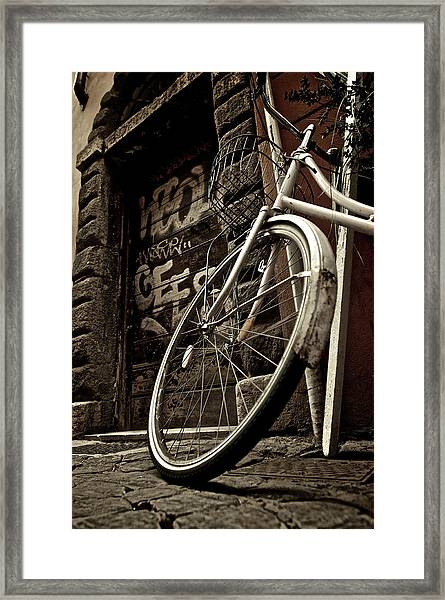 Streets Of Rome Framed Print