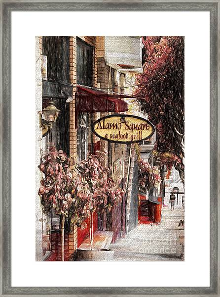 Streets Of San Fran Framed Print