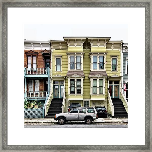 Streets Of San Francisco Framed Print