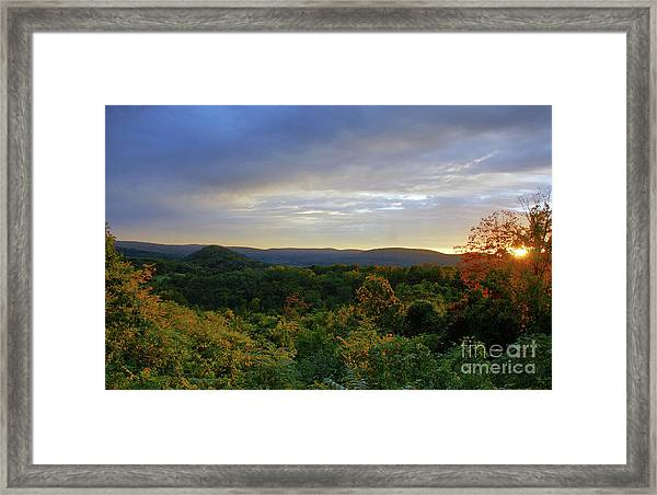 Strength Of The Day Framed Print